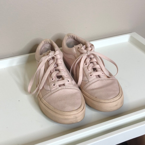 Vans Shoes | Baby Pink Vans | Poshmark